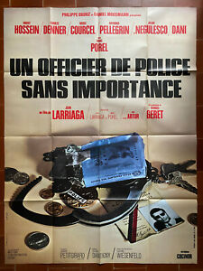 Poster Un Officer Police Without Importance Jeans Larriaga Marc Porel 120x160cm