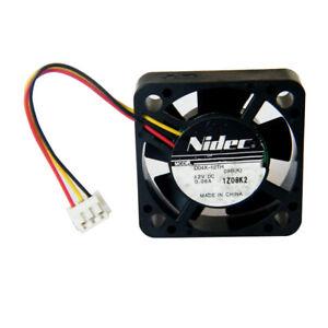 Nidec D04X-05TH DC 12V 0.06A 4.2CM 42X42X10mm 4010 dual ball bearing cooling fan