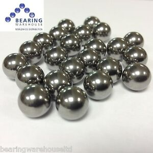 """3/8"""" (9.5mm) Catapult Slingshot Ammo Steel Ball Bearings - Pack of 100"""