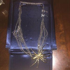 Tom Binns spider necklace