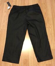 Ingredients NWT Black Crop Cuffed Capri Pants Sz 8