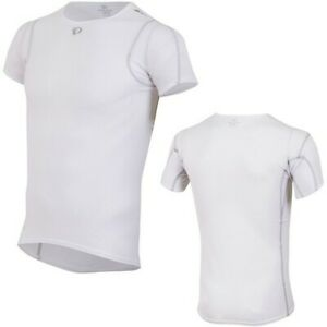 "Pearl Izumi Men's Transfer Short Sleeve Base Layer White Small ""New with tags"""