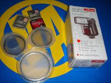 Flash METZ Mecablitz 36 AF-5 digital + 3 tarjetas compact flash card + filtros