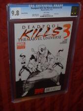 Deadpool Kills the Marvel Universe #3 CGC 9.8 2nd print