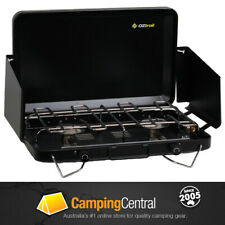 OZtrail 2 Burner Gas Camping Camp Portable Stove Cooker