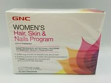 GNC Women's Hair Skin Nails 30 Day Program Dietary Supplement Expires 03/21
