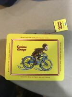 Collectors Curious George Tin Keepsake Box with Latch by Schylling