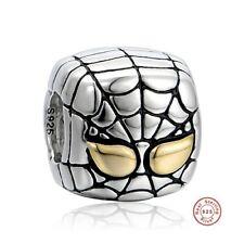 Spiderman plata de ley 925/Marvel super heroe charm