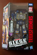 Sealed Transformers Voyager Class WFC Soundwave Siege War for Cybertron NEW MIB