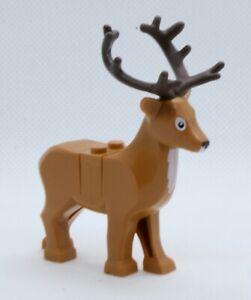 LEGO Reindeer Animal - Winter Village Elf Club House Set 10275 Deer Stag New