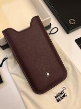 NEU MONTBLANC *MST* iPhone 5 / 5S / SE Leder Hülle PHONE CASE NP:200€ -1227
