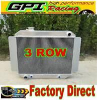 3ROW Aluminum RADIATOR fits Holden Kingwood Torana HG HQ HJ HX HZ V8 253 308