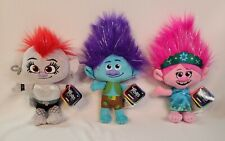 "Trolls World Tour Plush  BRANCH, POPPY, BARB *CHOOSE* NEW 2020 Sparkle Hair 10"""