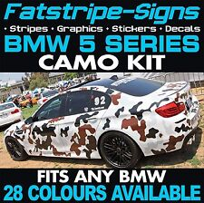 BMW 5 SERIES GRAPHICS CAMO STICKERS DECALS CAMOUFLAGE VINYL STRIPES M5 E60 F10