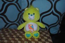 "Care Bears Do Your Best Care Bear Green Kite Cute 10"" Nice Htf 2002"