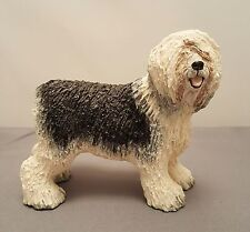 Basil Mathews Hand Painted Old English Sheepdog