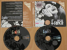 2x AUDIO CD + DVD-ROM with 1500 FRENCH MP3's - VARIOUS - MUSIC FROM FRANCE