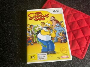The Simpsons Game Wii Pal 2007 Japan EXC