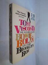 Tony Visconti autobiography Bowie, Bolan & Brooklyn Boy PB David Marc music