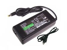 Original Sony Vaio VGN-NS325J/N VGN-NW240F/S/W VGN-NW250F/S AC Adapter Charger