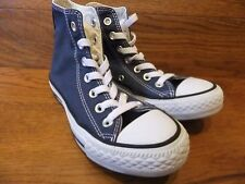 Converse CT All Star Navy Canvas Hi Top  Trainers Size UK 3  EU 35