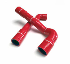 M2 MOTORSPORT RED SILICONE TOP & BOTTOM RADIATOR WATER HOSES BMW E36 M3 Y3414