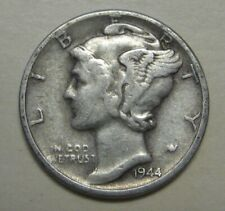 1944-S Mercury Head Silver Dime in Average Circulated Condition  DUTCH AUCTION