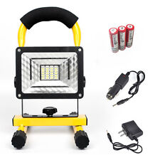 24LED 30W LED Flood Light Outdoor Waterproof IPX6 Rechargeable Spotlight KIT