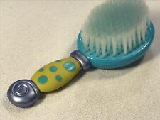 Nuby Baby Hair Brush Blue Yellow Stars 2012