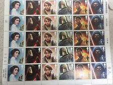 30 Star Wars First Class Stamps Mint Condition Type B