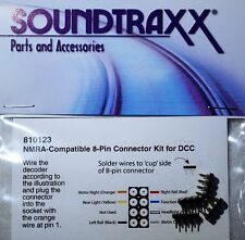 Soundtraxx NMRA Compatible 8-pin connector kit for DCC