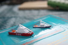 Fire and Police Launch, harbour ships from Triang Minic Ships S690