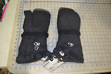 OR outdoor research trigger finger mitt black size XL gore-tex w/liners USMC