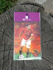 NUOVO Memory Technology cartolina 3D postcard AS Roma Francesco Totti