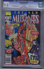 New Mutants #98 Marvel 1991 1st Appearance Deadpool