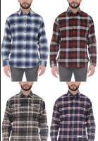 Jachs Men's Brawny Flannel Shirt, Long Sleeve, Cotton, Select Color & Size NWT!!