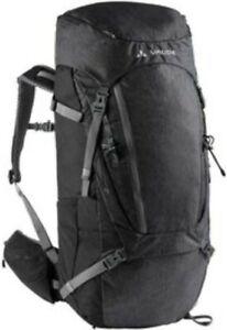 Vaude Asymmetric 52 + 8 Hiking Backpack - Grey NWT