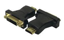 LogiLink Adapter DVI zu HDMI HDMI auf DVI-D Full HD HDTV vergoldete Kontakte