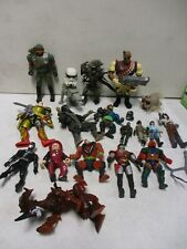 1980's-90's Assorted Action Figure Lot with Alien, Dick Tracy, He-Man