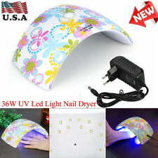 Profession Uv Led Nail Polish Dryer Gel Polish Lamp Curing Light Manicure 36W Us