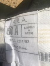 Argentine Infantry Trousers ARA 1982 Dated With Drawstring Legs