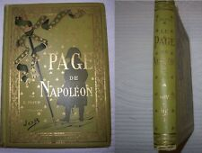 C1 NAPOLEON Dupuis LE PAGE DE NAPOLEON Cartonnage Polychrome ILLUSTRE par JOB