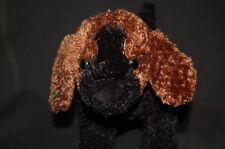 "Brown Black Kookey Puppy Dog Unlock the Fun 11"" Plush Plush Stuffed Toy"