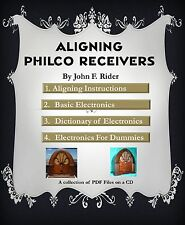 Aligning A Philco Receiver ....  Radio Service Course eBook on a CD (Tube Radio)