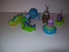 "Disney ""A Bugs Life"" lot of 6 McDonald's Wind Up toys~Tough to Be A Bug 1998"
