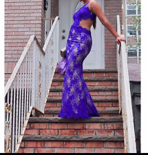 Jovani prom dress royal blue
