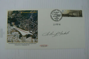 2006 CAMBRIDGE FDC CONCORDE OVER RIO SIGNED CPT. ANTHONY MEADOWS