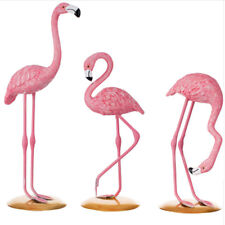 Flamingo Decor Resin Figurine Home Garden Party Wedding Decoration 3 Styles