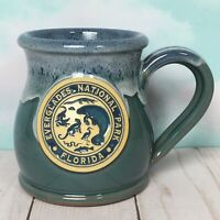 Everglades National Park Coffee Mug Deneen Pottery 12 Ounce Manatee Panther FL