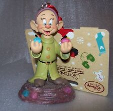DISNEY STORE 2016 DOPEY SKETCHBOOK CHRISTMAS TREE ORNAMENT NEW WITH TAG